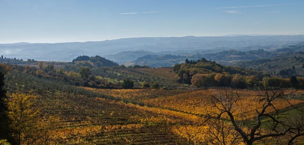 Montespertoli, toskanische Landschaft
