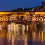 Ponte Vecchio, Florenz, Arno