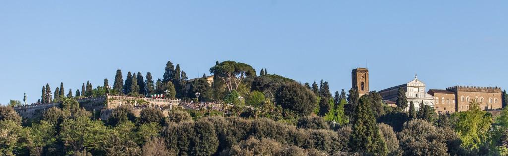 San Miniato al Monte, piazzale Michelangelo