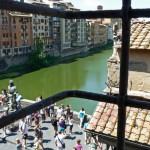 Corridoio Valeriano, Florenz, Ponte Vecchio