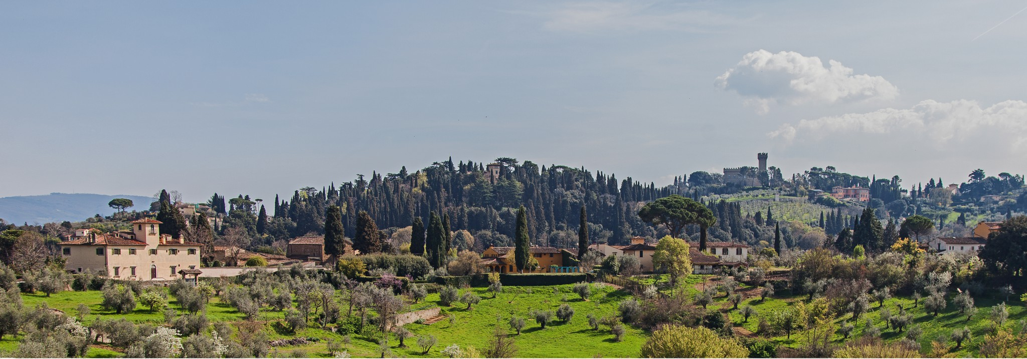 Blick von Fort di Belvedere