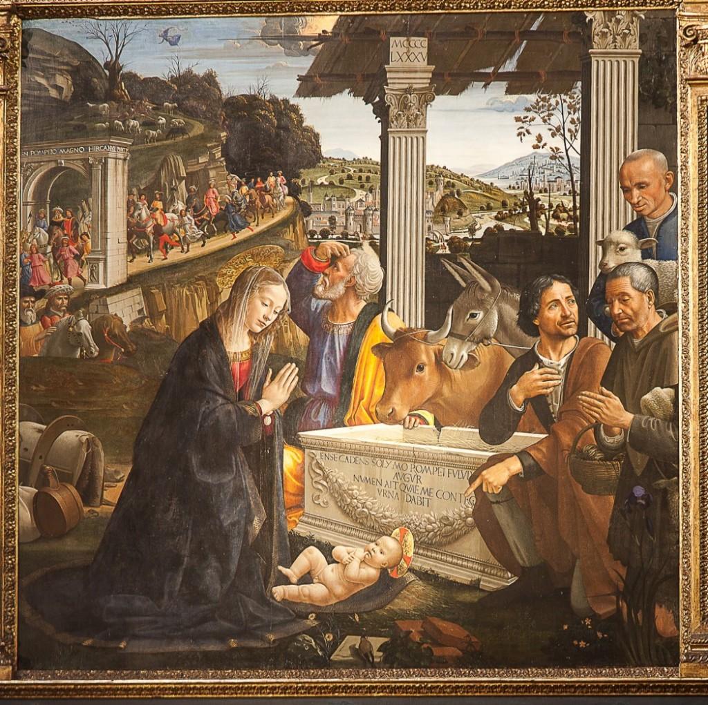 Basilica di Santa Trinidad, Florenz