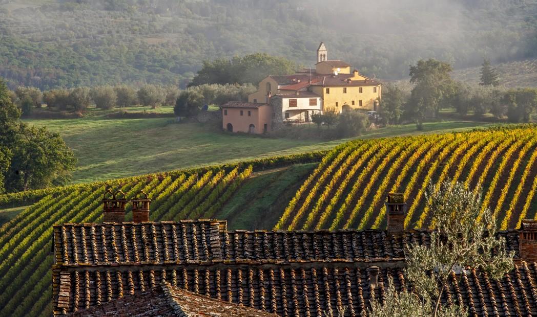 Herbst im Chianti