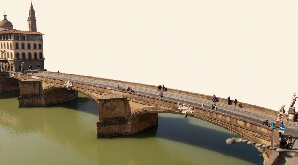 Ponte Santa Trinita, Florenz,