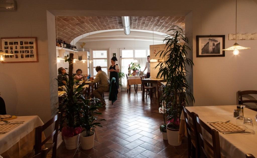Trattoria L'Antico Forno, Toskana