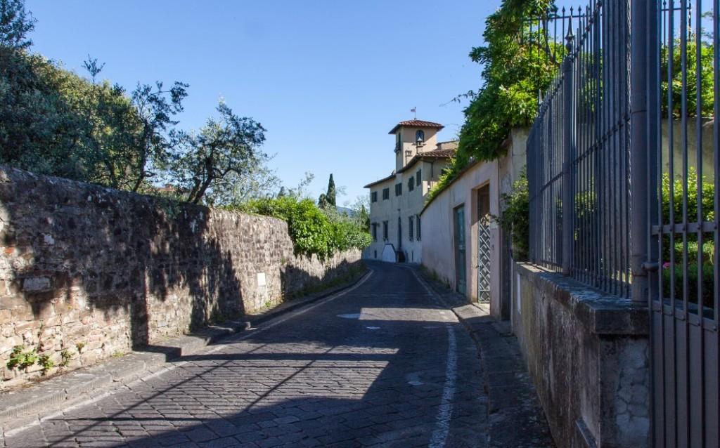 Via San Leonardo, Florenz