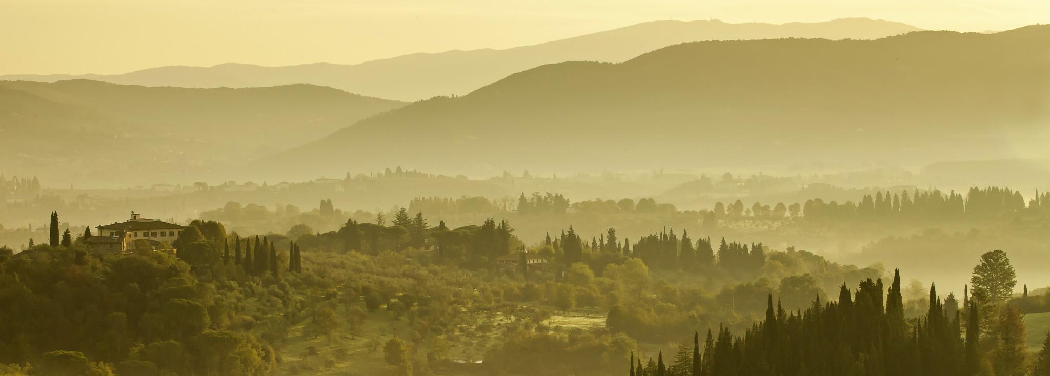 Sfumato, Toskana