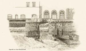 Stauwehr am Arno