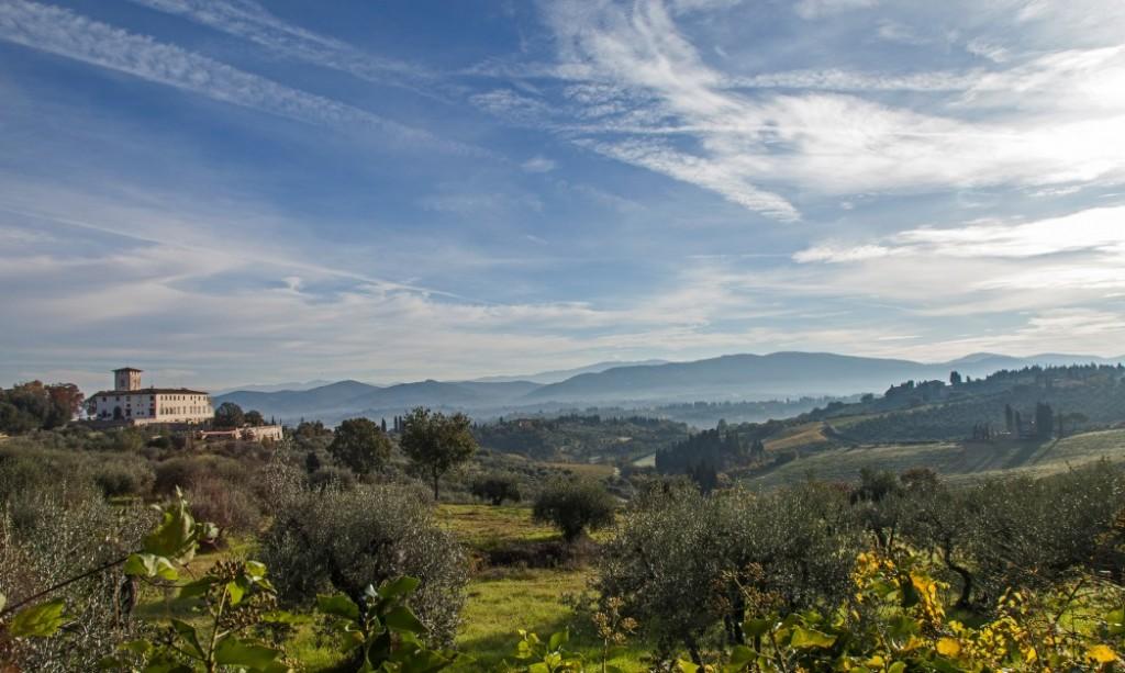 Villa Corsini, Mezzomonte