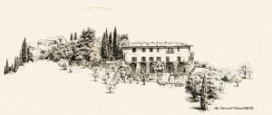 Villa Fioravanti, Zeichnung