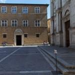 Piazza Pio II., Pienza, Toskana