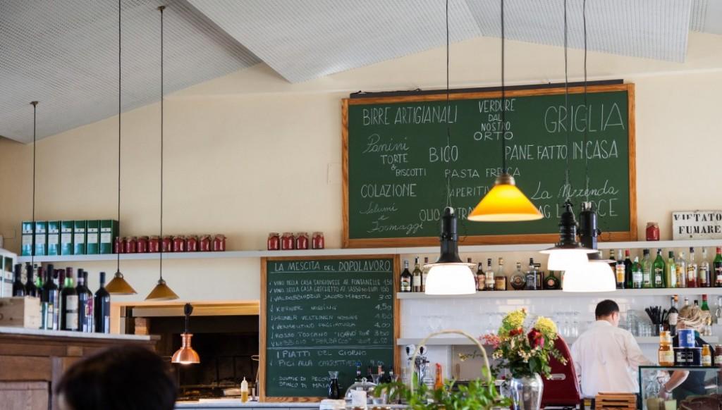 Restaurant 'Dopolavoro', La Foce, Chianciano Terme, Toskana