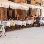 Osteria Le Logge, Siena, Toskana