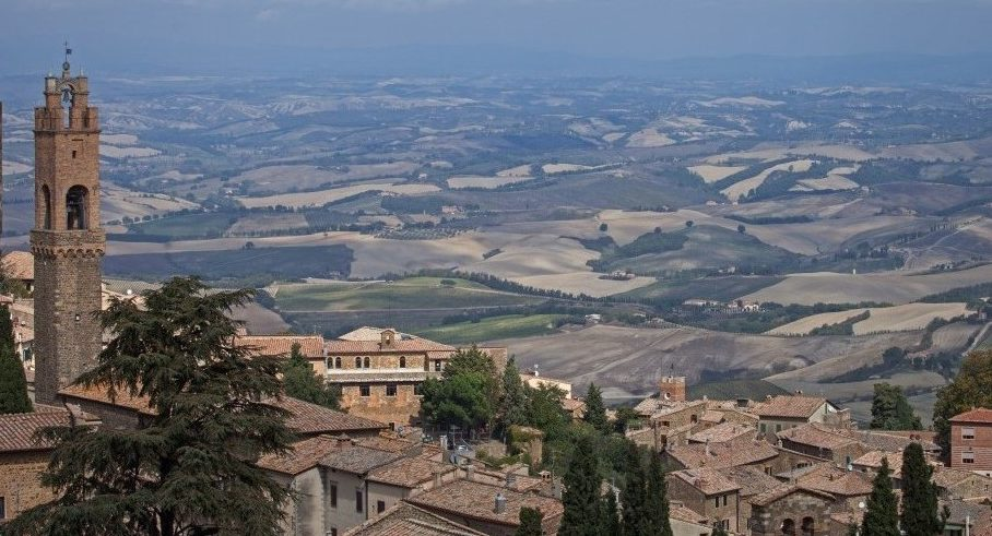 Rocca di Montalcino, Montalcino, Toskana
