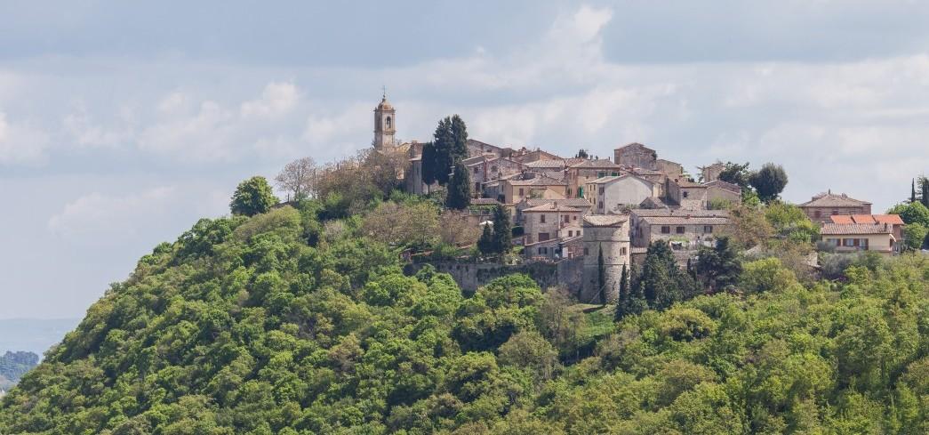Montefollonico, Toskana, Chianti-wein