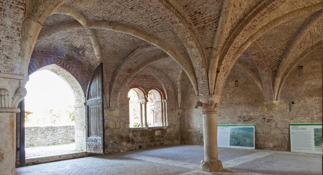 Abazia di San Galgano, Toskana