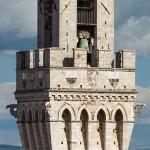 Torre del Mangia, Siena, Toskan a