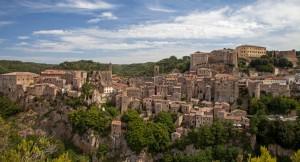 Sorano, città del tufo, Toskana
