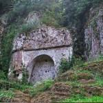 Etrusker Grab, città del tufo, Toskana