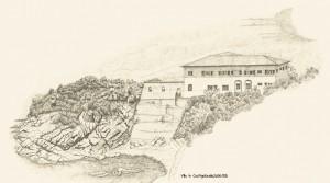 Castiglioncello, Zeichnung, Toskana